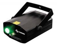 Láser bicolor con iluminación LED RGB