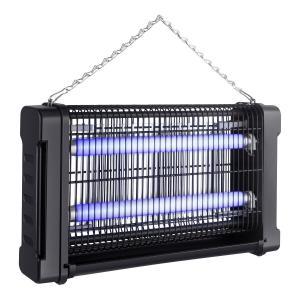 Exterminador electr nico de insectos voladores con doble l mpara de luz uv insectronic 200 - Lamparas anti insectos ...