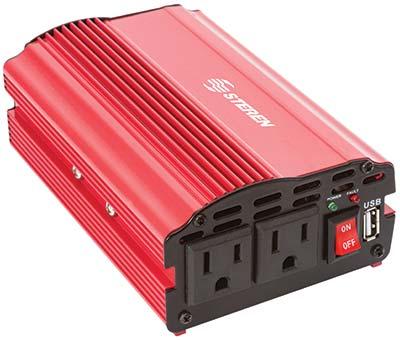 Inversor de corriente de 12 vcc a 110 vca de 300 watts - Inversor de corriente ...