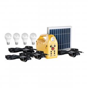 Estaci 243 N De Energ 237 A Solar Con 4 Focos Led Lam 600